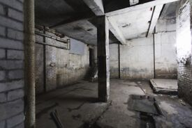 Derelict Abandoned Industrial Warehouse Film / Photo Studio for Daily Hire Haggerston East London
