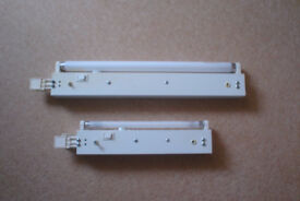 Two complete under cabinet kitchen strip lights - 32cm and 47cm long - very good condition