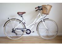 LADIES HYBRID BIKE PENDLETON SOMERBY IN EXCELLENT CONDITION LITTLE USE WITH BASKET