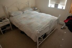 Double Bed Steel Frame