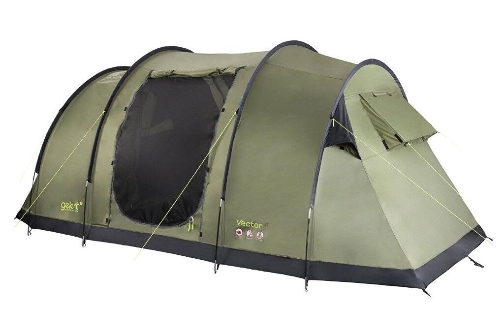 Gelert Vector 4 tent - two bedroom tent