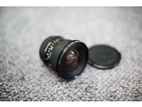 Canon FD 17mm / f4 Lens (adapted for Canon EOS)