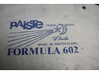 "Paiste Formula 602 22"" Heavy cymbal- Blue logo - Swiss - 1981 Drilled for rivets"