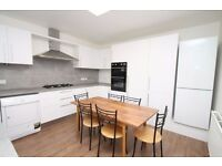 A very spacious refurbished three double bedroom, two bath/shower room maisonette over four levels.
