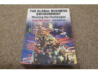The Global Business Environment by Janet Morrison 3rd edition text book