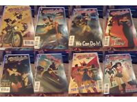 DC Comics Bombshells Perfect Condition Issues 1-33+Annual