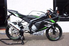 Rieju RS3 125 LC 125cc Pro Sports Motorcycle Yamaha YZF Engine Flexible Payments