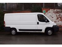 Driver with own van,looking for work