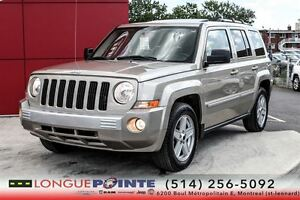 2010 Jeep Patriot Limited +CUIR +TOIT