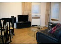 Bright modern three-bedroom flat. Fully furnished.