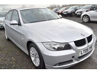 BMW 320D 6 SPEED 2 KEEPERS - HIGH SPEC HEATED LEATHERS/SUNROOF/CRUISE 55MPG!
