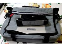 Bikehut 15 inch Laptop Messenger Pannier Fabric Clip Release Handbag Bike Bicycle Bag