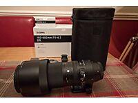 Sigma 150-600mm contemporary canon fit