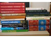 Books 20 nature books