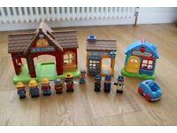 ELC HappyLand Fire Station & Police Station, Figures & Sounds
