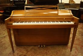 Baldwin spinet piano in walnut - Tuned & UK delivery available