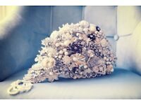 VINTAGE STYLE BROOCH BOUQUET £80 ono