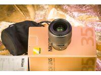Nikon AF-S 35mm f/1.8 G ED full-frame