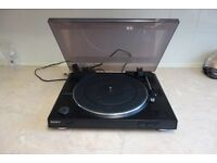 Sony PS-LX300USB 2-Speed Belt-Drive USB Fully Automatic Turntable Phono Preamp