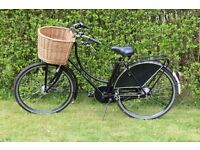Woman's Dutchie bike. Perfect for round town rides to shops or school. Near mint condition.