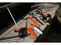 STIHL 2016 KM94 RC COMBI SYSTEM WITH ATTACHMENTS ALL IN FULL WORKING ORDER