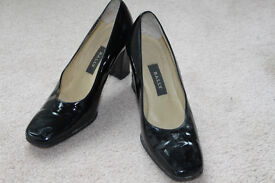 Bally Black Patent shoes