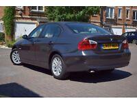 2007 BMW 320D SE 2.0 DIESEL*FSH*2 KEYS*1 FORMER KEEPER*3 MONTHS WARRANTY*HIGH SPEC*REAR PARKING AID*