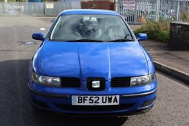 Seat Leon 1.4 11 Months MOT and cheap Insurance. Excellent car for the price