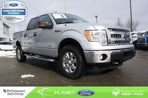2014 Ford F-150 XLT 4X4 FORD CERTIFIED LOW RATES & EXTRA WARRANT