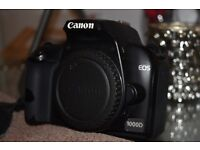 Canon 1000D with Twin Lens Kit