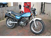 Suzuki Vanvan 125cc geared motorbike, learner legal 125 motorcycle.