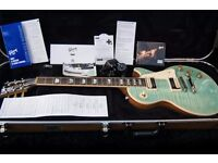 Gibson USA Les Paul Classic in limeted edition seafoam green ** mint condition**