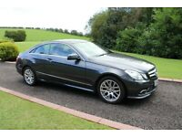 Mercedes-Benz, E 350 Diesel coupe 2010 sunroof, Auto, TAN FULL LEATHER