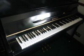 Elysian Shiny Black Upright Piano   Belfast Pianos