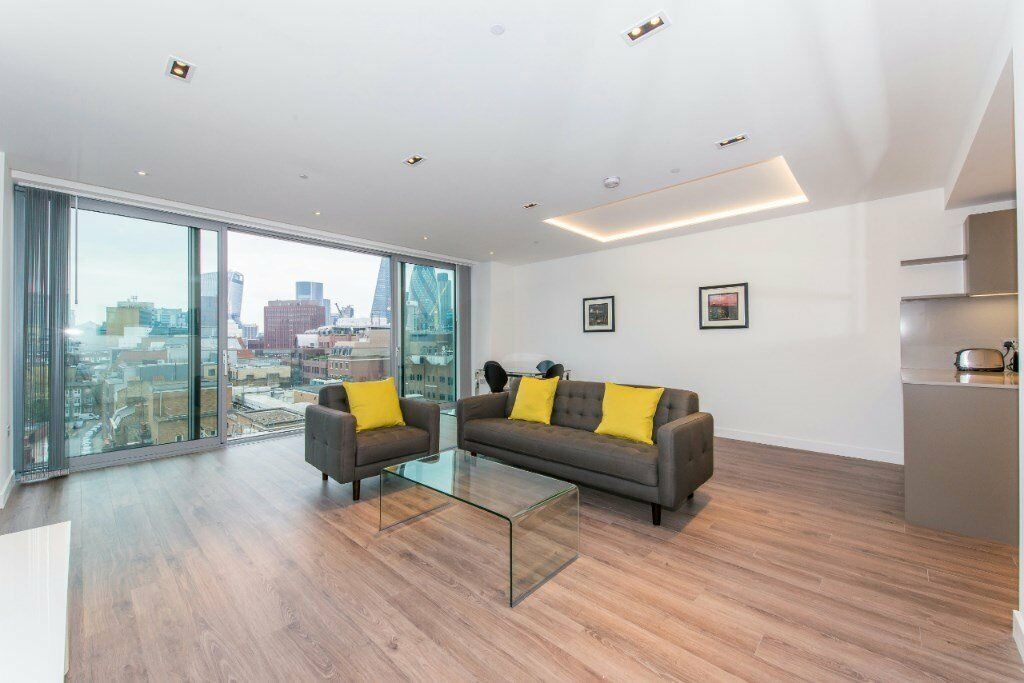 7TH FLOOR LUXURY FURNISHED 800sq ft ONE BEDROOM APARTMENT IN GOODMANSFIELD CASHMERE HOUSE E1 ALDGATE