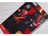 """Star Wars KYLO REN Deluxe Animatronic Interactive 17"""" figure (The Force Awakens) + Calendar NEW"""
