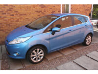 Ford Fiesta Zetec 1.25 FSH 5dr GREAT Condition Low Milage Full MOT Jun 2017