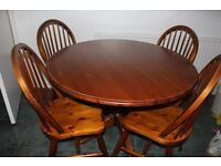 Solid Pine dining Table Antique pine