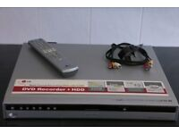 LG DVD + 80HDD recorder £10 *** buyer collects***