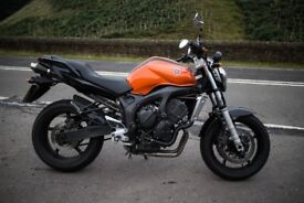 Fully Loaded Yamaha FZ6 - Over £600 of added modifications