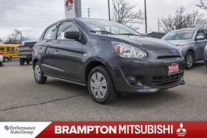 2015 Mitsubishi Mirage ES|A/C|AUX|ACCIDENT FREE|ONE OWNER|KEYLES