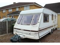Swift conqueror 4 Berth caravan with awning 1997 / 8