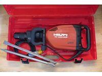 Hilti Te 1000 AVR Demolition Breaker 110V + CHISELS - SERVICED