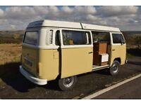 Gorgeous 1972 VW Westfalia SO72 Campervan, with new MOT
