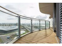 BRAND NEW 1 BEDROOM FLAT Royal Victoria Dock £395 per week PRIVATE RESIDENT'S GYM