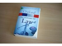 Oxford Dictionary of Law Book