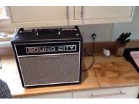 Sound City Valve / Tube combo 20c amplifier