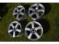"Set of 4 Mitsubishi Outlander 19"" Alloy Wheels - Fit Citroen C-Crosser & Peugeot 4007"