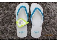 REEFS, Brand new with tags. Ladies UK Size 7 (US 9). £5, collect from Torquay or can post