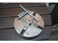 250mm 4 Jaw Independent Chuck for Colchester Student 1800